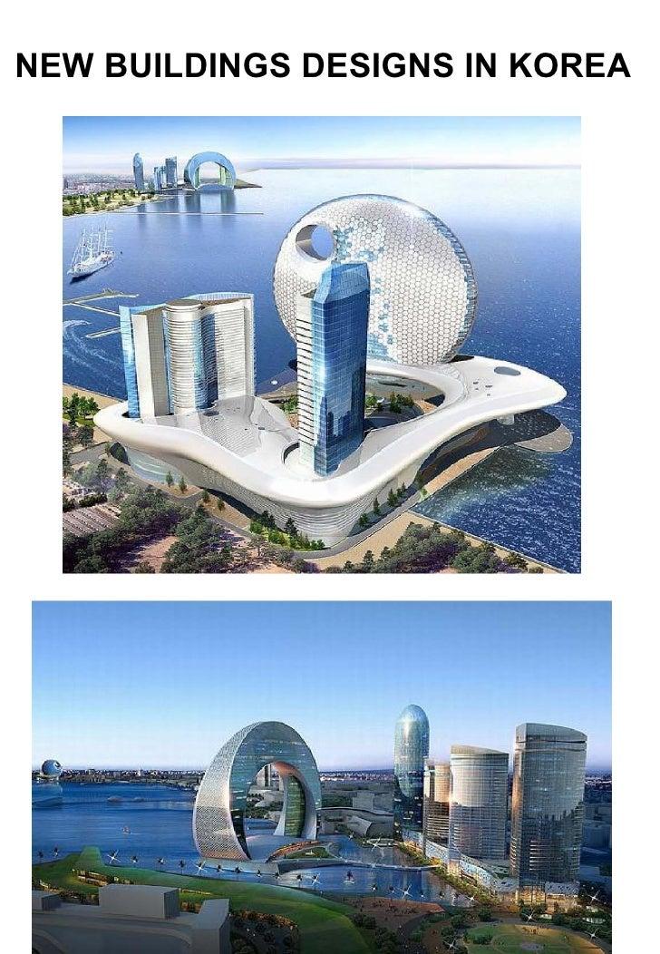 NEW BUILDINGS DESIGNS IN KOREA