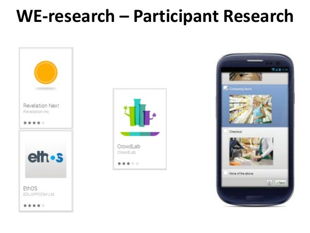 WE-research – Participant Research