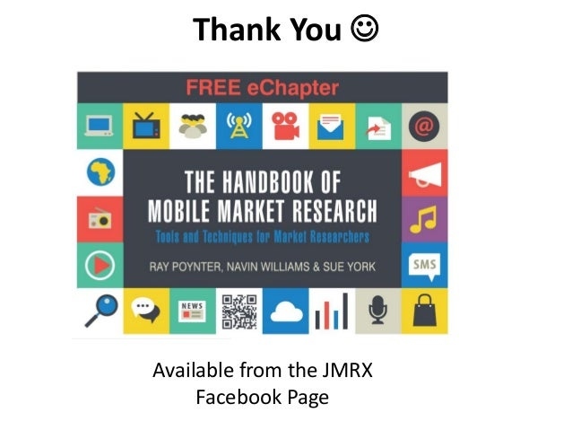 Thank You  Available from the JMRX Facebook Page
