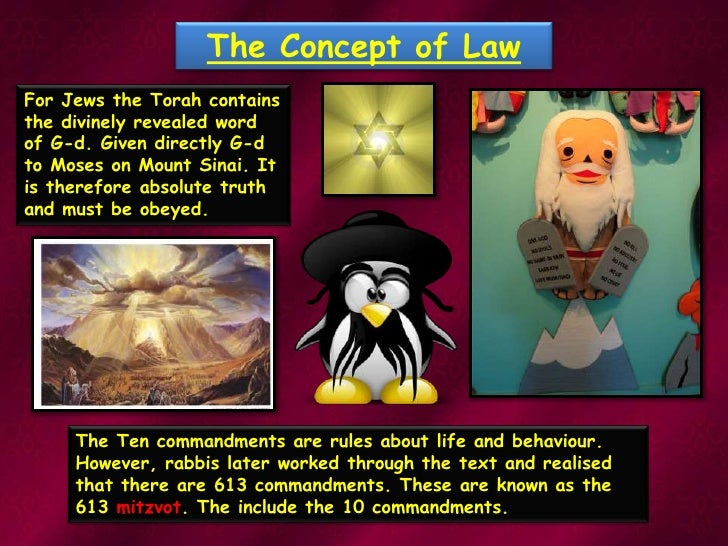 The Law And Mitzvot 2010 Pt1