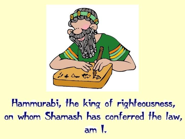 King Hammurabi For Kids