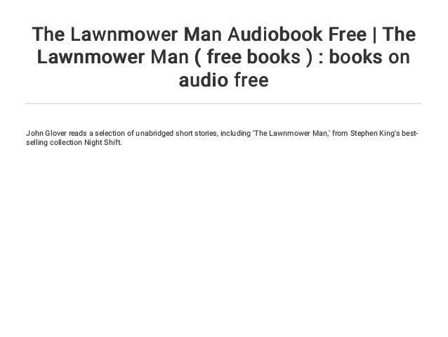 the lawnmower man short story