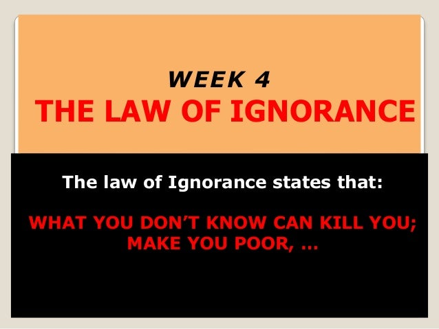 ignorance of the law Enjoy our ignorance of the law quotes collection best ignorance of the law quotes selected by thousands of our users.