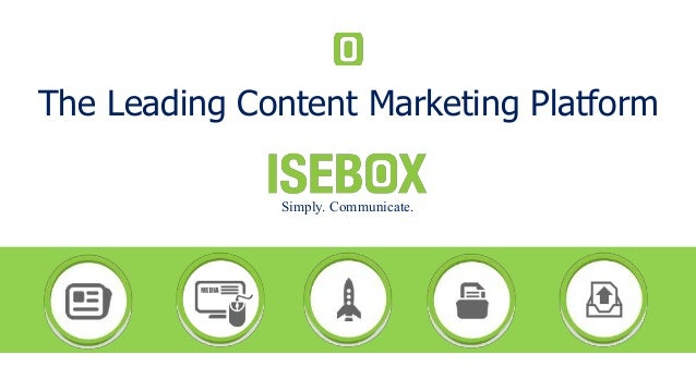 The Leading Content Marketing Platform Simply. Communicate.