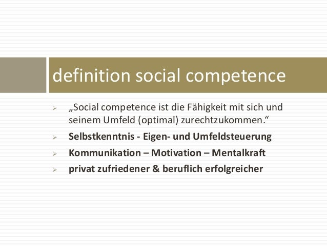 The leading social competence trainer Slide 2
