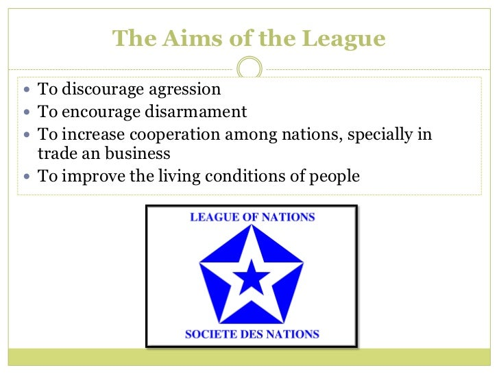 what were the weaknesses in the league of nations organisation How far did weaknesses in the league_s organization make failure inevitable the organization of the league of nations has league of nations were.