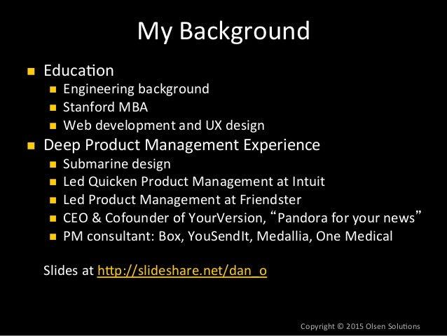 The Lean Product Playbook by Dan Olsen Slide 2
