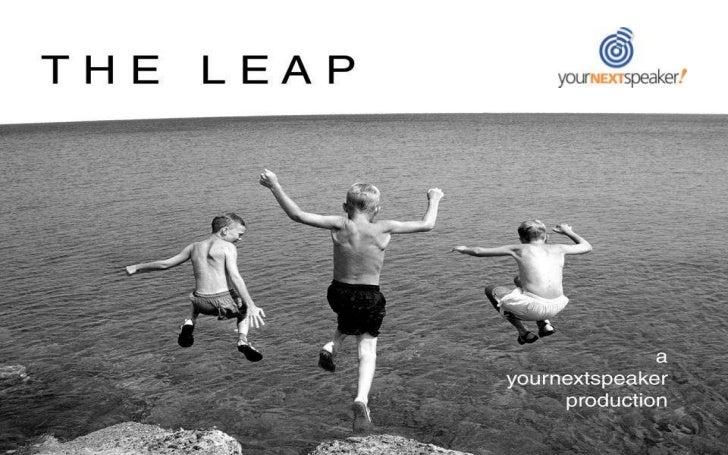 The Leap Show YourNextSpeaker Rhett Laubach 2010