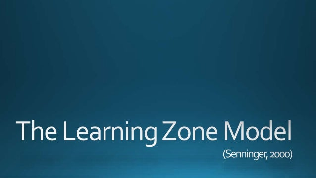 Panic Zone Learning Zone Comfort Zone Comfort Zone In the comfort zone, things are familiar. It is a safe place to reflect...