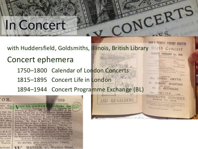 In Concert central academic value: authority and quality so … protect original spreadsheets and databases central portal i...