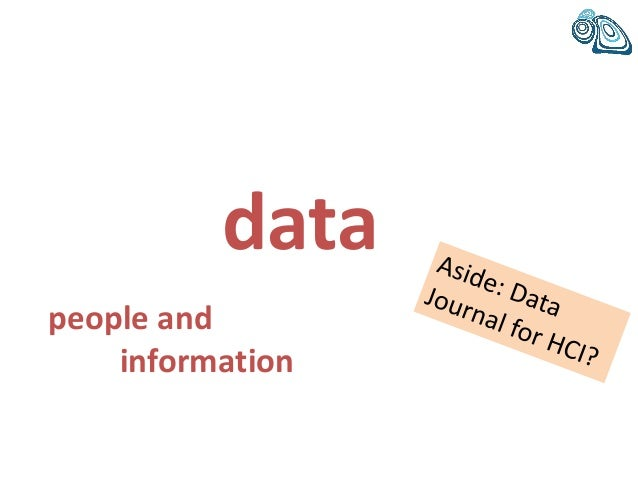 data people and information