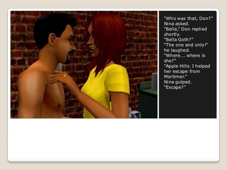 dating bella goth