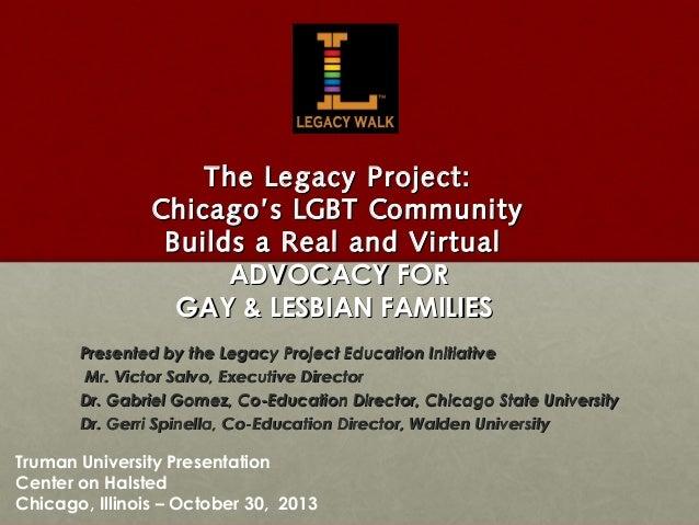 Gay lesbian advocacy