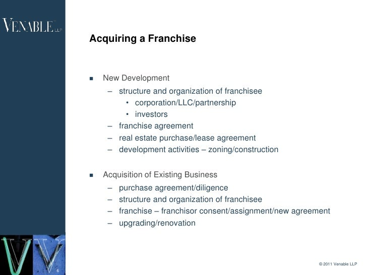 Doing Business In Dc Starting And Growing A Franchise The Legal A