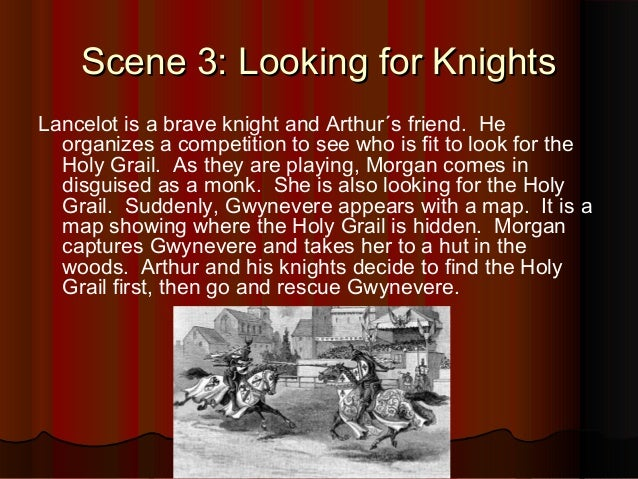 a summary of the arthurian legend The man who inspired the arthurian legend would have been a briton, a leader of the celtic.