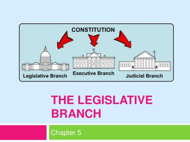 THE LEGISLATIVE BRANCH Chapter 5