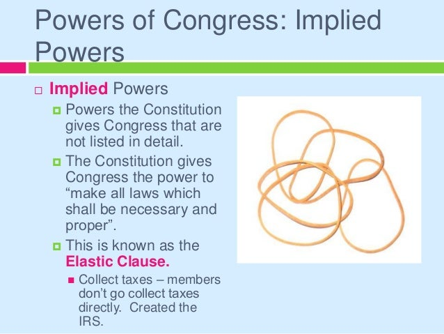 Legislative Branch Making The Laws And More