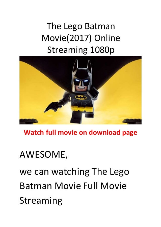 The lego batman movie(2017) best action and comedy movies