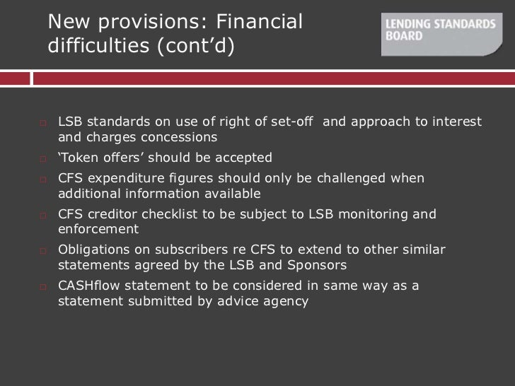 Cfs Loan Consolidation