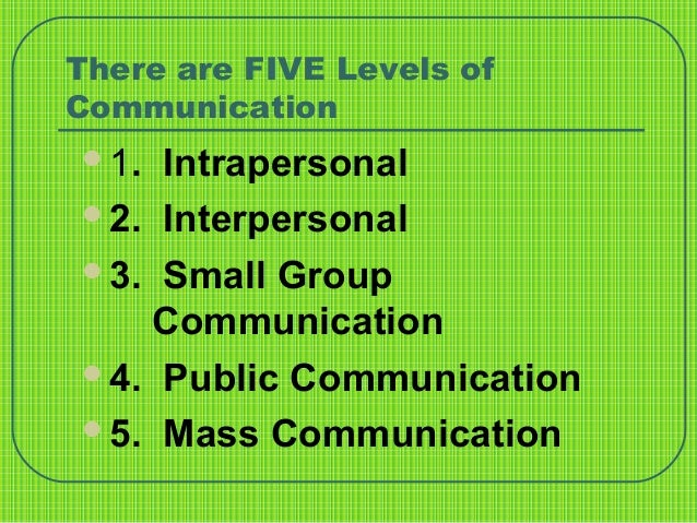 identify which of the following are the levels of communication competence