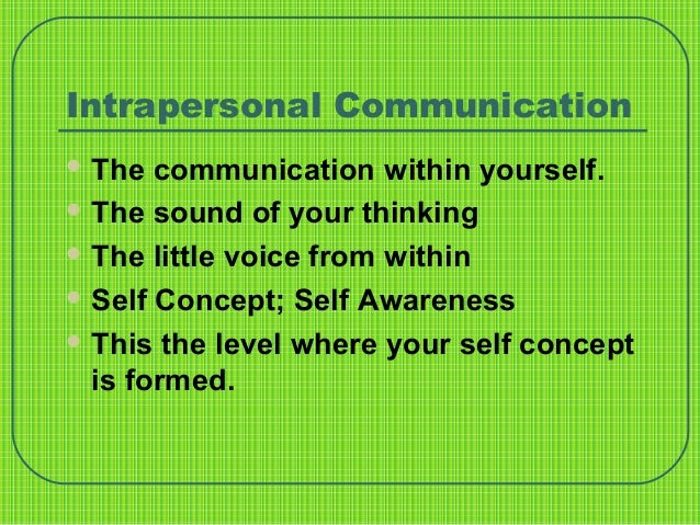 The Four Levels Of Communication