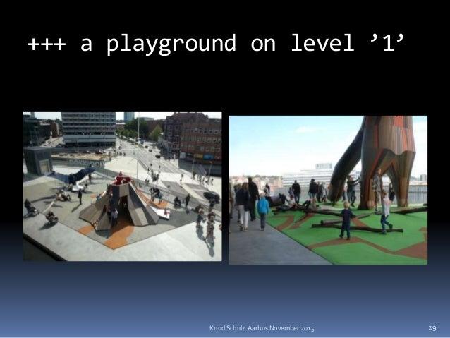 +++ a playground on level '1' Knud Schulz Aarhus November 2015 29