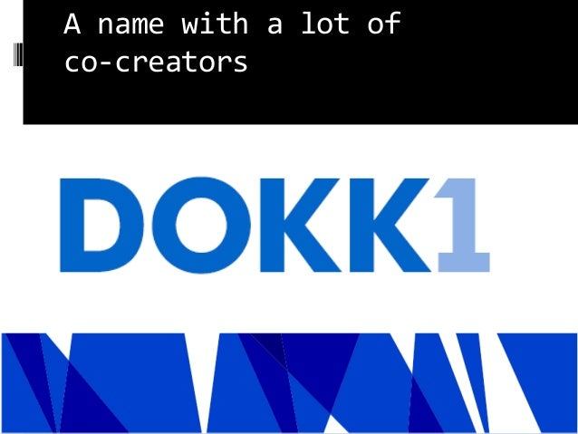 A name with a lot of co-creators Knud Schulz september 2014 34