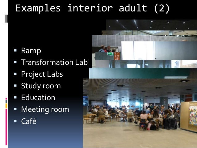 Examples interior adult (2) Knud Schulz Dokk1 December 2015 48  Ramp  Transformation Lab  Project Labs  Study room  E...