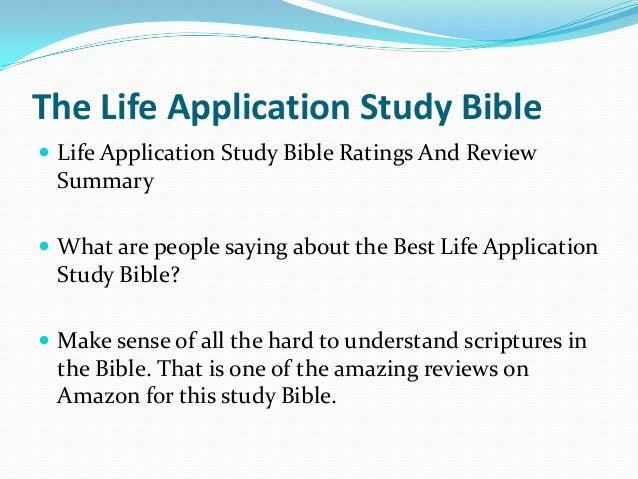Life Application Study Bibles - Christianbook.com
