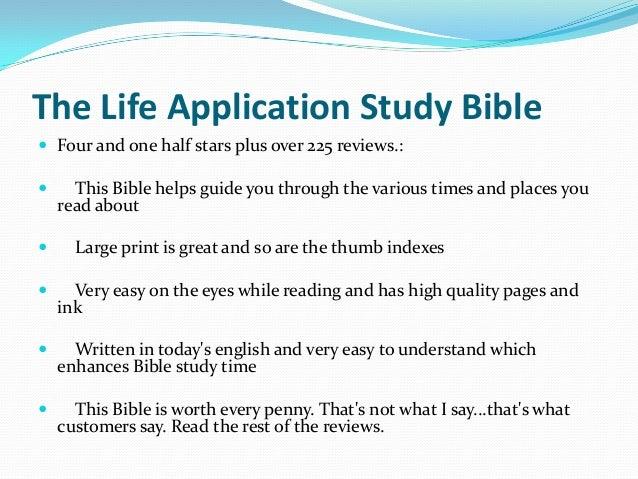 Life Application Study Bible - Wikipedia