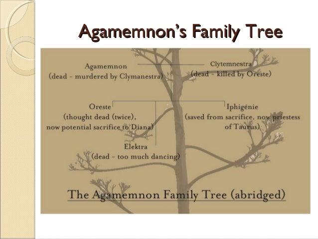 Agamemnon-s Characterer