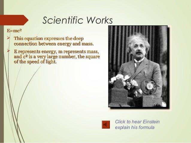 The Life Of Albert Einstein Ppt