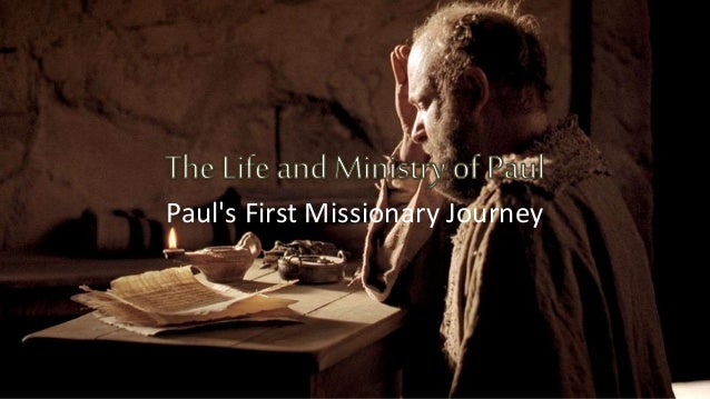 Paul's First Missionary Journey