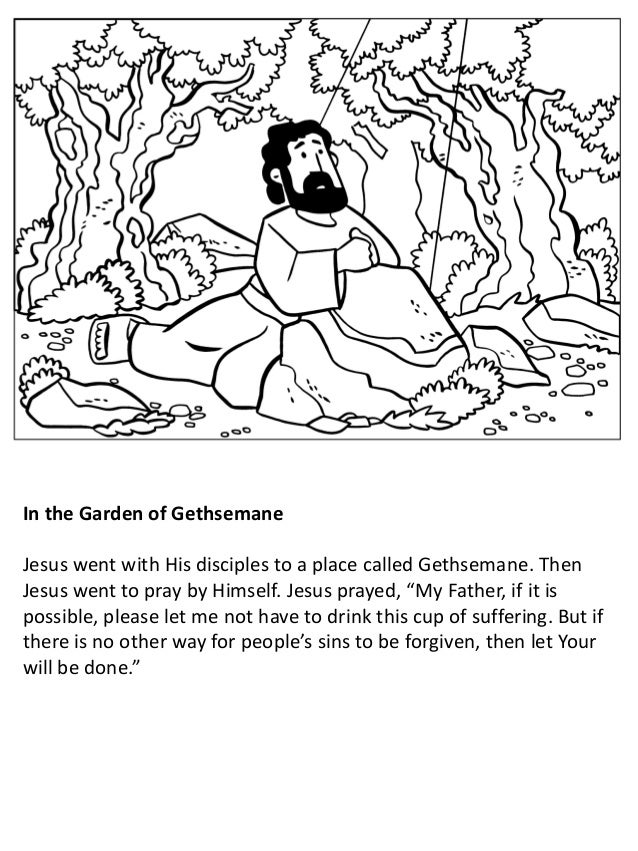 The Life of Jesus for Children Coloring Book