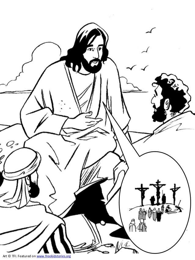 coloring pages of jesus life | The life of Jesus Coloring Book