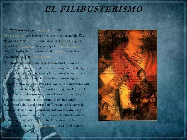 el filibusterismo character symbolism Simoun, basilio, isagani and paulita gomez are some of the major characters in the novel el filibusterismo first published in ghent, belgium, and written by jose p rizal, the philippines' national hero, el filibusterismo is the sequel to noli me tangere also known in its english title, the.