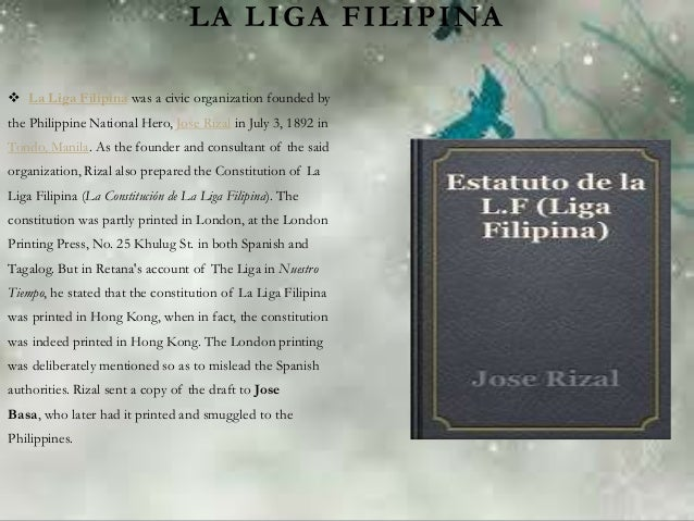 Works and Life of Rizal Essay