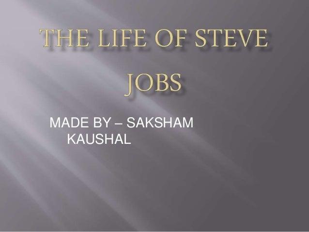 MADE BY – SAKSHAM KAUSHAL