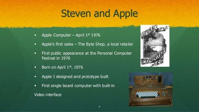 The life of steve jobs power point presentation steven and apple toneelgroepblik Choice Image
