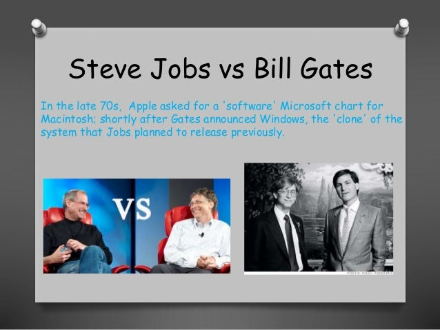 profiles of two visionaries bill gates and steve jobs It's only the second navy reads post this  paul allen and bill gates write basic for altair and form microsoft, while steve jobs and steve wozniak launch the.
