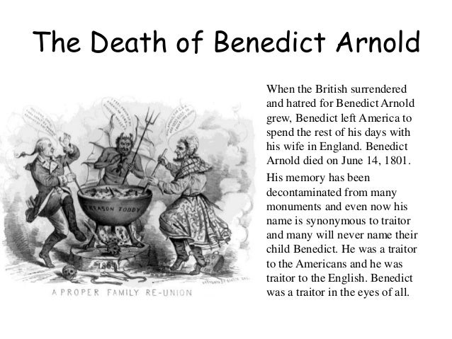 the life and abandonment of benedict arnold Get this from a library the life and treason of benedict arnold [jared sparks.