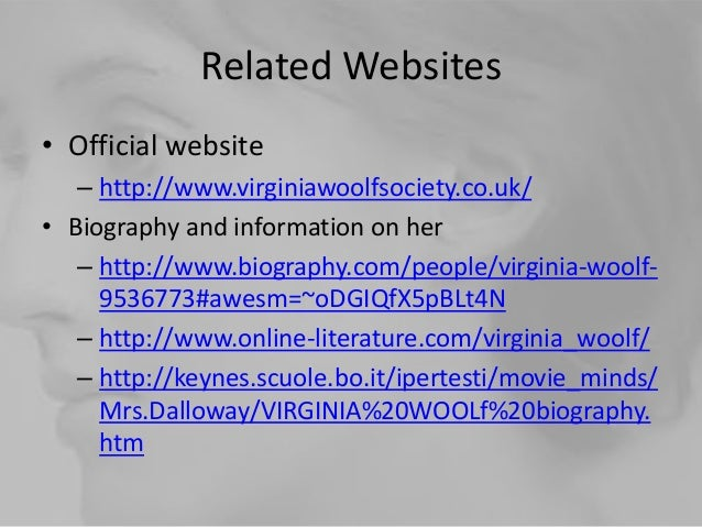 the life of virginia woof shared In honor of the 135th year of virginia woolf's birth, we take a look at the more affirming moments of the troubled writer's life.