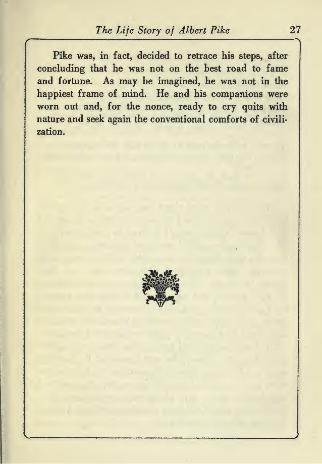 The life story of albert pike free ebook 27 fandeluxe Image collections