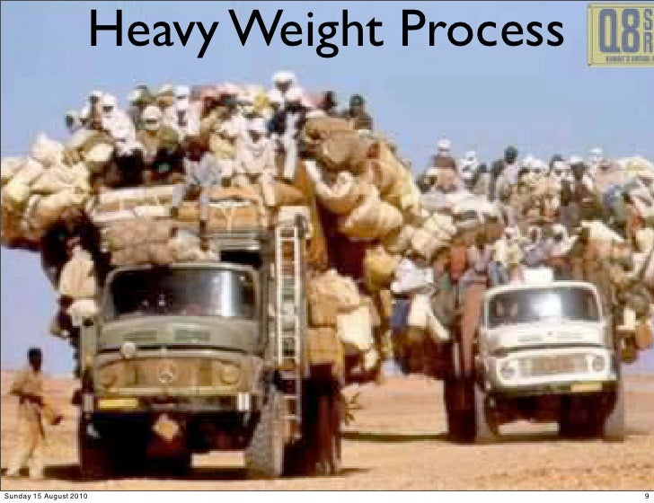 Heavy Weight Process     Sunday 15 August 2010                      9