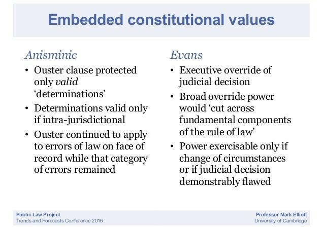 Statutory Presumptions