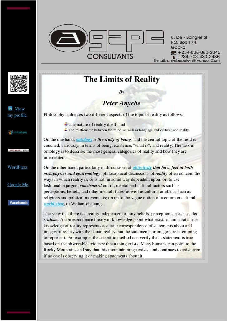 +234-703-430-2486                                    The Limits of Reality                                                ...