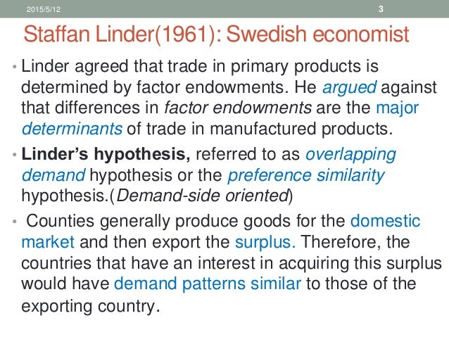 Theories of international trade and investment ppt