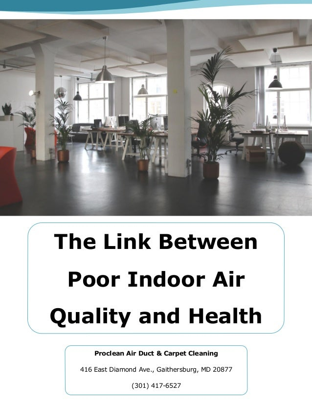 The Link Between Poor Indoor Air Quality And Health