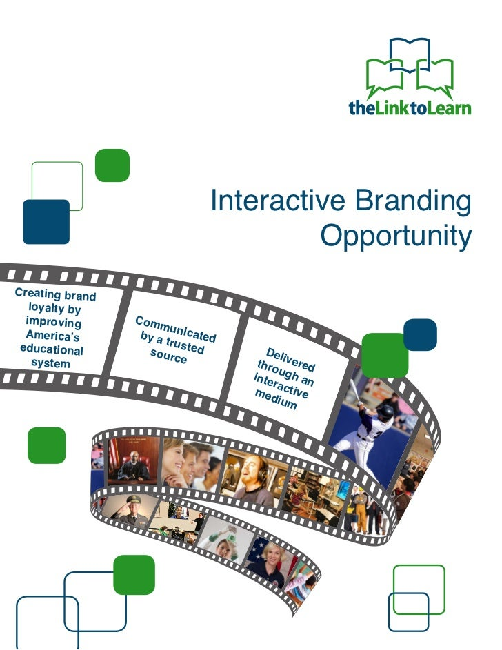 Interactive Branding                                      OpportunityCreating brand   loyalty by  improving      Com      ...