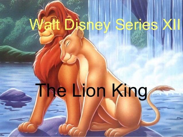 Walt Disney Series XIIThe Lion King